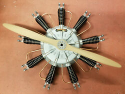 9 Cylinder Radial Engine For Your Pedal Persuit Plane
