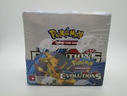 Xy Evolutions Brand New Sealed Booster Box Of Pokemon Cards 36 Packs