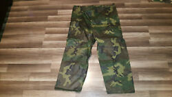 Orc Industries Wet Weather Trouser Pants Xl Size Military Camo, Nwot