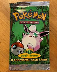 1st Edition Jungle Booster Pack New Factory Sealed Free Ship Usa Only
