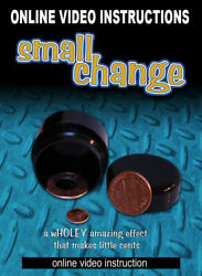 Smashed Coin Shrinks To Tiny Penny Trick Coin Mak Magic Closeup See Video