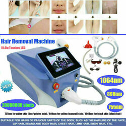 Diode Laser Permanent Painless Hair Removal Skin Rejuvenation Beauty Machine-hot