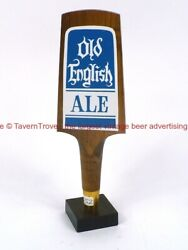 Rare 1980s Frankenmuth Old English Ale 9 Inch Wood Tap Tavern Trove