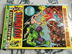 Marvel Feature 2 Mar 1972 Marvel Vf 2nd Appearance Of The Defenders