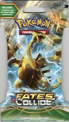Pokemon Xy Fates Collide Blister Pack 144 Pack Case Blowout Cards