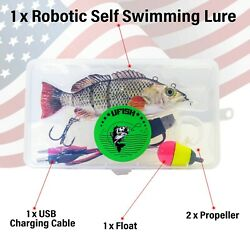 Best Fishing Lures For Pike Bass Walleye. Self Swimming Rechargeable Baits