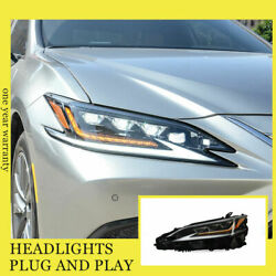 For Lexus Es200/260 18-20 Led Headlights All Led Source With Drl Dynamic Turn