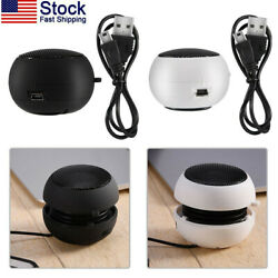 Portable Stereo Mini Speaker Loud For Computer Laptop Tablet Phone MP3 MP4 3.5mm