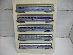 N Scale Con-cor 001-004651 Amtrak Superliners 5-car Passenger Set,phase_ii