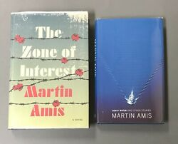 Martin Amis Pair Of First Editions Various Publishers 1988 - 2014