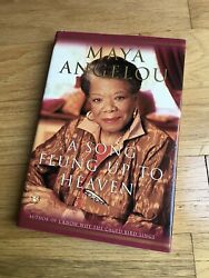 A Song Flung Up To Heaven First Edition Maya Angelou 2002