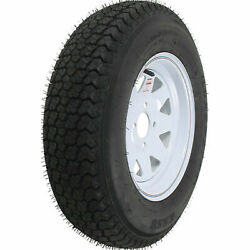 Loadstar Bias Tire And Wheel Rim Assembly St205/75d-15 5 Hole C Ply