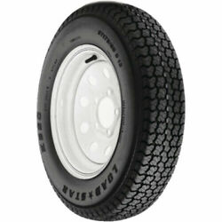 Loadstar Bias Tire And Wheel Rim Assembly St205/75d-14 5 Hole C Ply