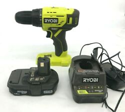 Ryobi P215k 18-volt One+ Lithium-ion Cordless 1/2 In. Drill Driver Kit Gr M