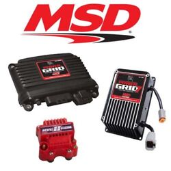 Msd 9961 Power Grid Ignition Kit - 77303 Controller/7720 Ignition/8261 Hvc Coil