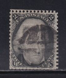 85b F-vf Used Neat Cancel With Nice Color Cv 1100 See Pic