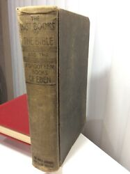 The Lost Books Of The Bible And The Forgotten Books Of Eden Rare 1926 First
