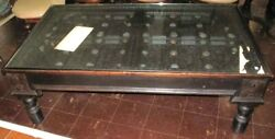 Superb Antique Rustic Hand Crafted Coffee Table