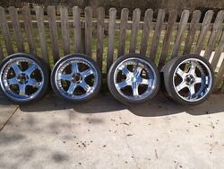20inch Lowenhart Ld5 Chrome Rims And Tires