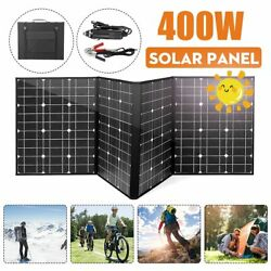 18v 400w Solar Panel Mono Crystal Linel Solar Cells Folding Package 1.5m Cables