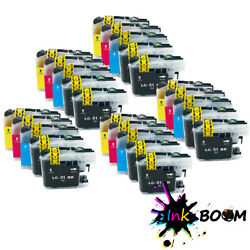 25 Ink Cartridge Fits Brother Lc51 Dcp-150c Dcp-750cnu Mfc-260c Mfc-870cdwn