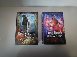 Illumicrate Red Scrolls Of Magic / Lost Book Of The White Exclusive Edition...