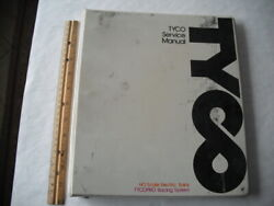1974 Tyco Ho Trains And Tycopro Slot Cars Dealer Service Manual In Binder