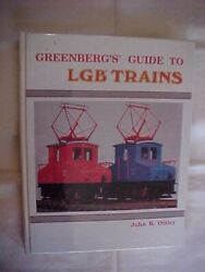 Greenberg's Guide To Lgb Trains 2nd Ottley Model Trains Antique Id Value 1989