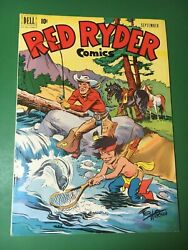 1951 Dell Red Ryder Comic Book 98 Vf - Fred Harman