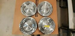 1963 Lincoln Continental 15 Inch Hubcaps Qty 4