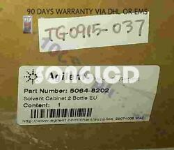 New Agilent 1100 Series 5064-8202 Solvent Cabinet With 2 Bottles Free Dhl Or Ems