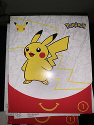 Pokemon Cards 25th Anniversary Mcdonalds Booster Promo Packs White Pack And Gift