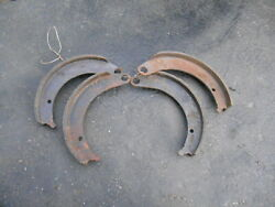 Mopar Dodge Wm300 Power Wagon Truck Nos Brake Shoes 1950and039s 1940and039s