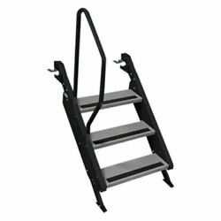 Morryde Stp-3-02ph - Aluminum Silver Removable 3 Entry Steps