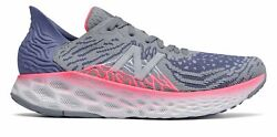 New Balance Womenand039s Fresh Foam 1080v10 Shoes Grey With Blue