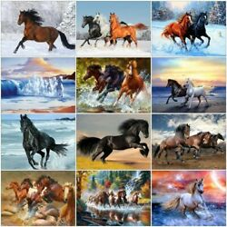Diamond Painting Horse Diamond Embroidery Animals Picture 5d Mosaic Home Decor
