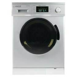 Equator All-in-one 13 Lb Compact Combo Washer Dryer Silver