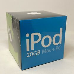 Rare Apple Ipod Classic 4th Generation 20gb White P9282ll/a A1059 New Sealed