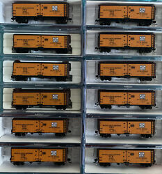 N Scale Intermountain Pfe Western Pacific Wp Reefer Runner Pack Set Lot Built Up