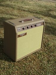 Carland039s Custom Amps Classic 62and039 Brown 15w 1x12 Combo Brownface Princeton Style