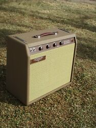 Carland039s Custom Amps Classic 62and039 Brown 15w 1x10 Combo Brownface Princeton Style