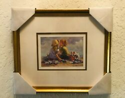 """Lucelle Raad Summer Secrets""""  239/950 Limited Edition Lithograph - Signed"""