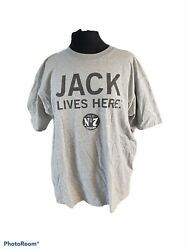 """Chase Authentic Nascar Jack Daniel's Official Jack Lives Here"""" Promo T-shirt"""