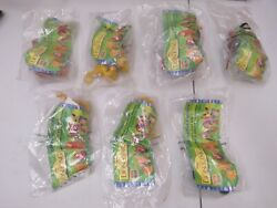 Burger King 1994 Disney's Lion King - Complete Set Of 7 - New + Kids Club Pages