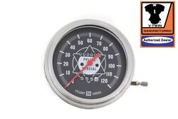 Speedometer With 21 Ratio And Red Needle Fl 1941-1967 Knuckle Pan Shovel 4-speed