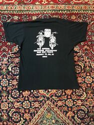 Vintage 1983 Abate Of Pa. Muscular Dystrophy Run And Party T Shirt Size Large