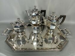 Antique Silver-plated Tea Set From 19th Century Christofle - Free Shipping