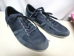Dolce And Gabbana Cs0904 Mens Sneakers Size 11 Navy Blue Lace Up