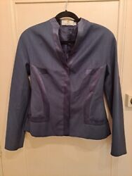 Givenchy Couture Alexander Mcqueen '99 Wool Jacket Skirt Suit Rare Stunning Cut