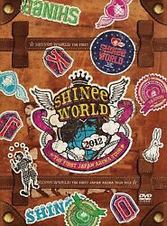 Shinee The First Japan Arena Tour �gshinee World 2012�h Special Box Dvd